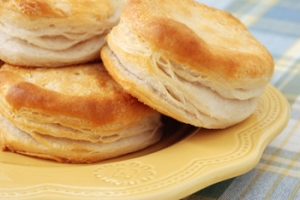 buttery and flaky biscuits