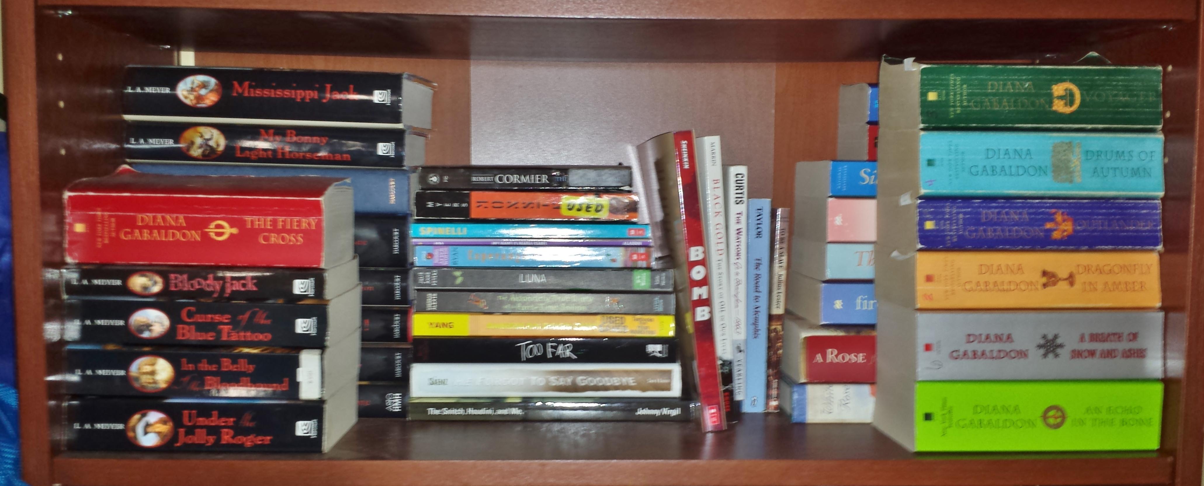 Thoughts On Thursday My Shipshape Shelves Girl Of 1000 Wonders