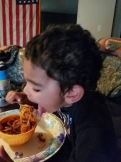Eating like a pro