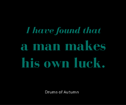 Drums of Autumn 1