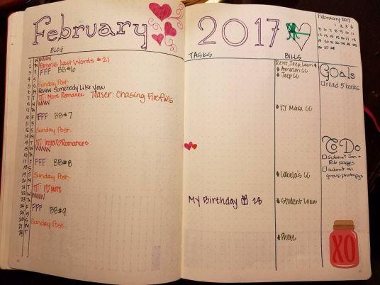 Feb task list