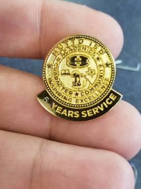 5 Years of Service